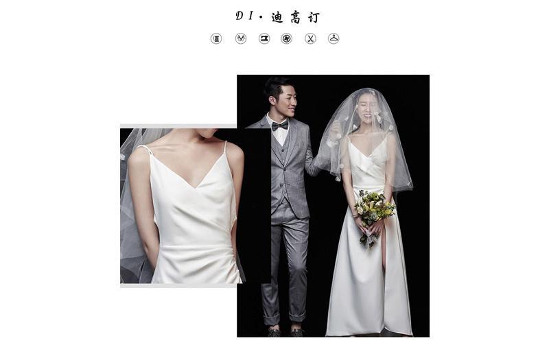 Những mẫu váy được tối giản hóa chi tiết ngày càng được các cô dâu trẻ ưa chuộng, nhẹ nhàng, nữ tính mà không quá hào nhoáng
